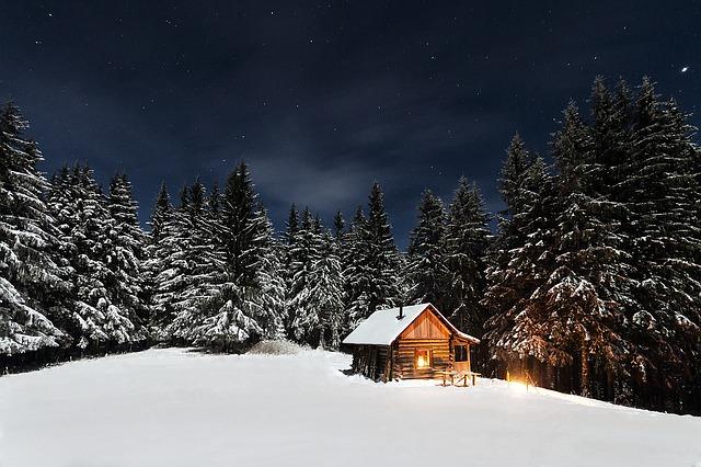 romantika v zimě